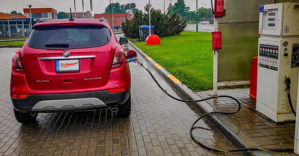 Automobilinės dujinės įrangos atsipirkimo apskaičiavimas