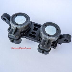 Dujų purkštukai AEB/Landi Renzo 2 cilindrų