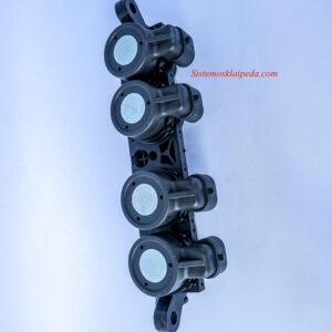 Dujų purkštukai AEB Landi Renzo 4 cilindrų