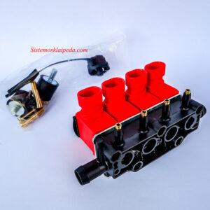 Dujų purkštukai OMVL REG/Valtek 4 cilindrų