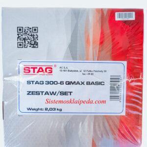 Dujinė įranga STAG 300-6 QMAX BASIC elektronika