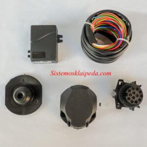 Universalus kablio elektros instaliacijos modulis 13 PIN